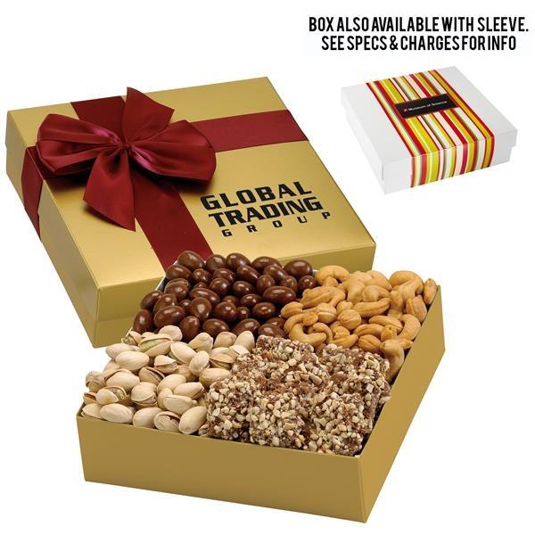 4 Way Elegant Gift Box - Supreme Nut Treasure