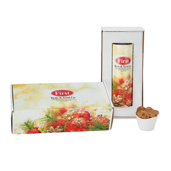 """8"""" Single Cookie Gift Tube Sets in Mailer Box"""