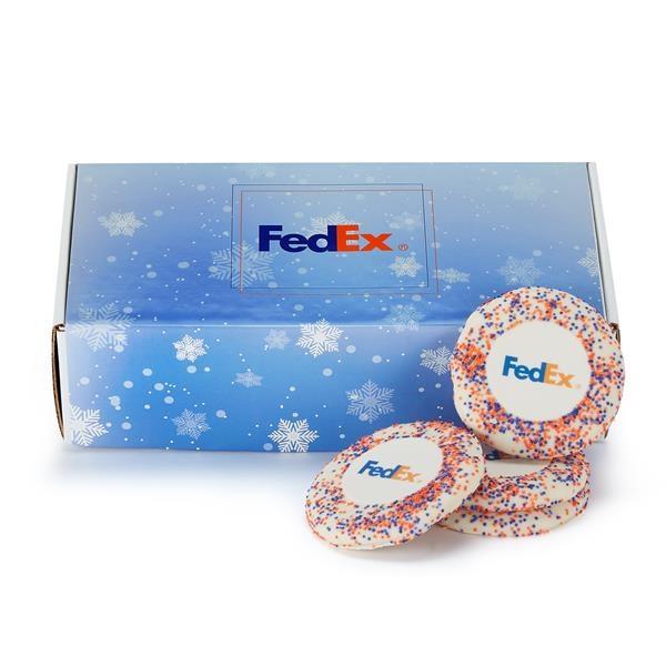 Sugar Cookie Mailer - Corporate Color Nonpareil Sprinkles