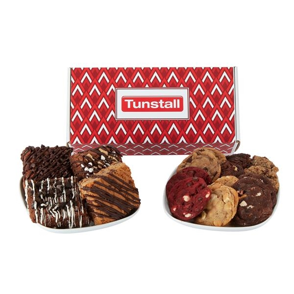 Small Mailer Box of 12 Assorted Cookies & Brownies