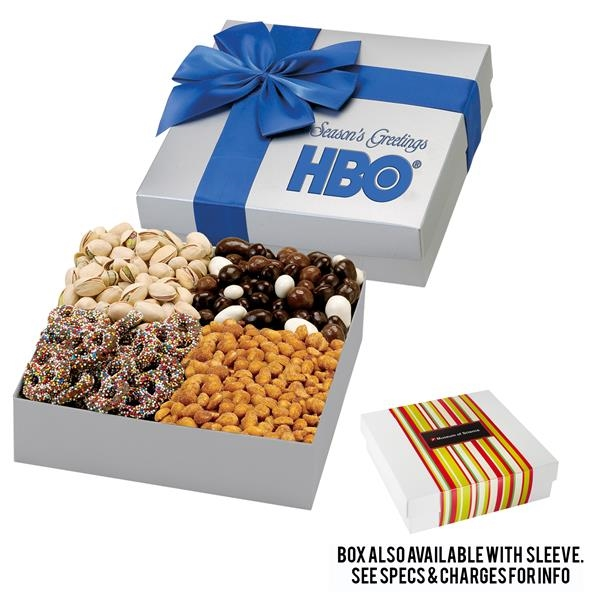 4 Way Elegant Gift Box - Executive Treat Sampler