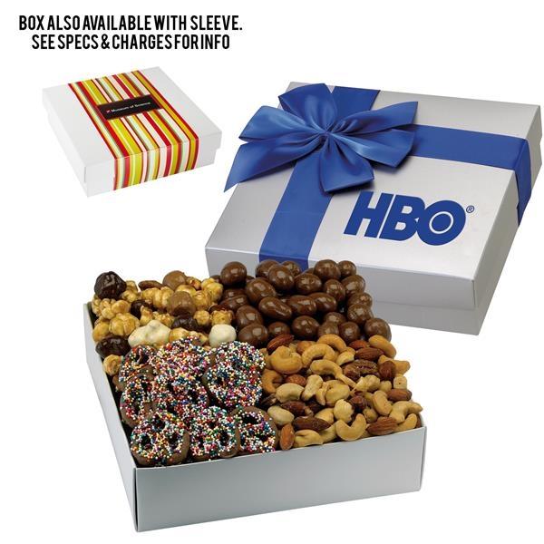 4 Way Elegant Gift Box - Gourmet Delights