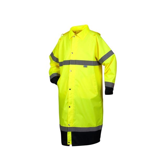 Pyramex® Premium Hi-vis Rainwear Coat