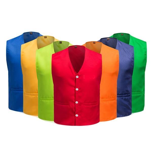 Unisex Supermarket Volunteer Uniform Vest