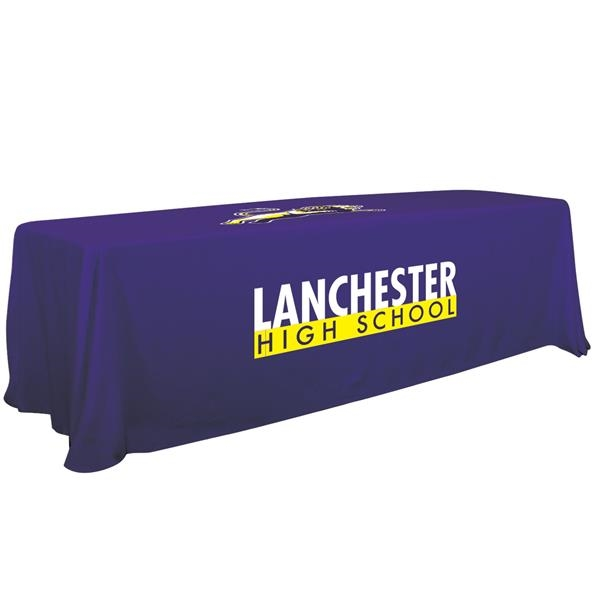 6'/8' Convertible Table Throw (2 Imprint Locations)