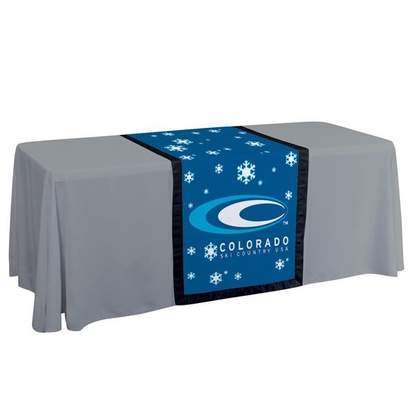 """28"""" Accent Table Runner (Dye Sublimation)"""