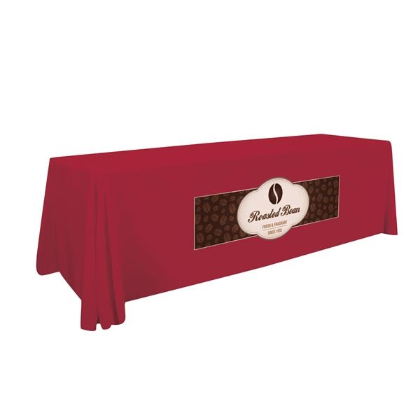 8' Stain-Resistant 4-Sided Throw (One Imprint Location)