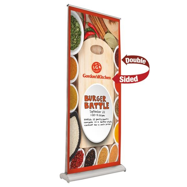 "33.5"" Deluxe Pro Retractor (2 Banner, Dry-Erase Media)"