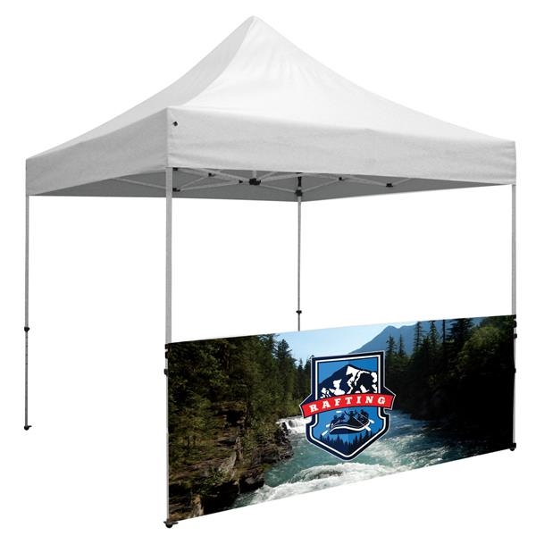 Deluxe 10' Tent Half Wall Kit (Dye-Sublimated, 1-Sided)