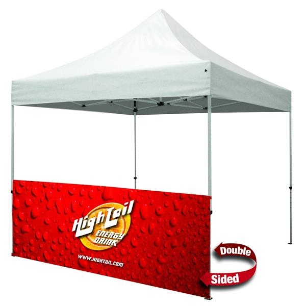 Standard 10' Tent Half Wall Kit (Dye-Sublimated, 2-Sided)