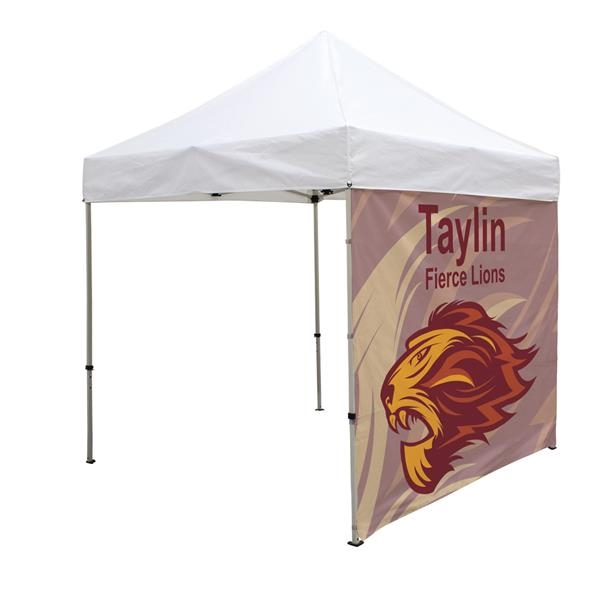 8' Tent Full Wall (Dye Sublimation)