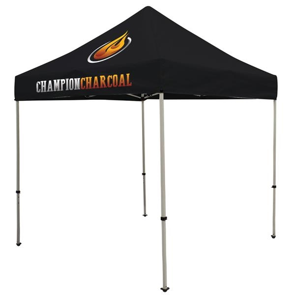 Deluxe 8' Tent Kit (Full-Color Imprint, 2 Locations)