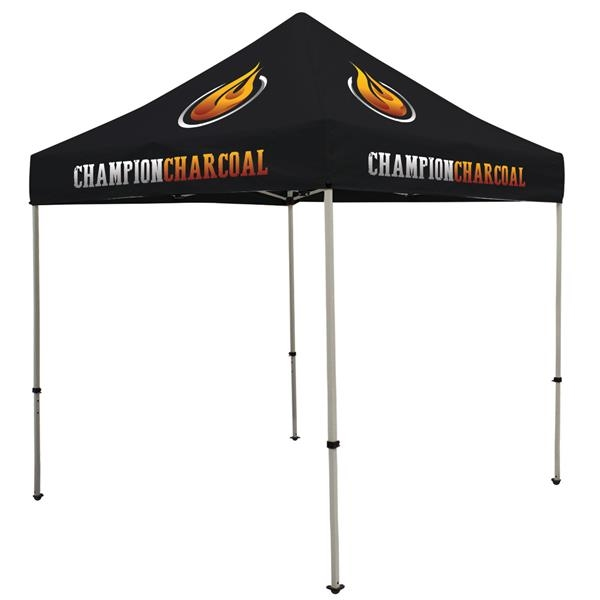 Deluxe 8' Tent Kit (Full-Color Imprint, 4 Locations)