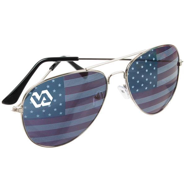 USA Aviator Sunglasses