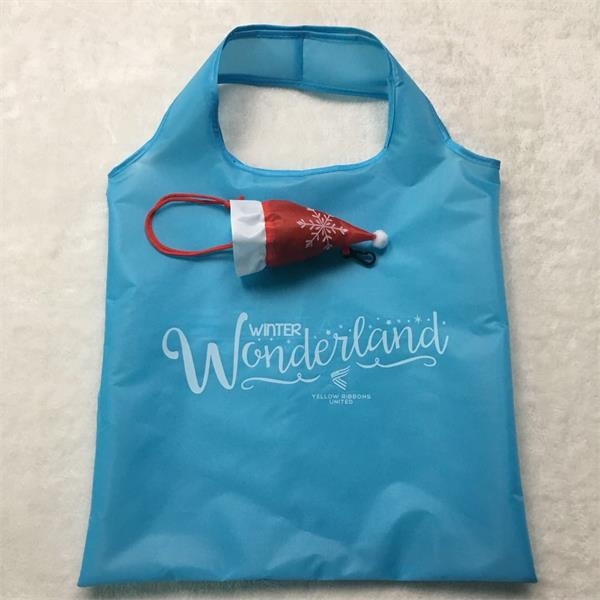 Holiday Folding Tote