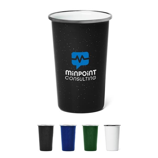 17 oz. Speckled Enamel Pint Cup