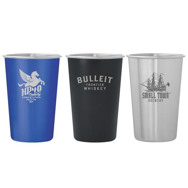 Dubliner Stainless Steel Pint Glass Cup