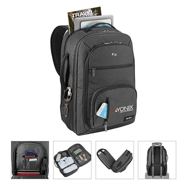 Solo® Grand Travel TSA Backpack