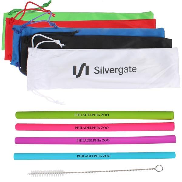 Silicone Straw Kit