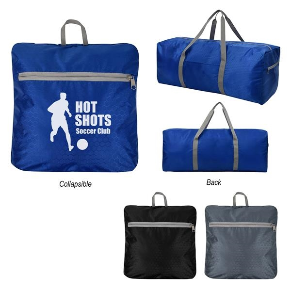 Frequent Flyer Foldable Duffel Bag