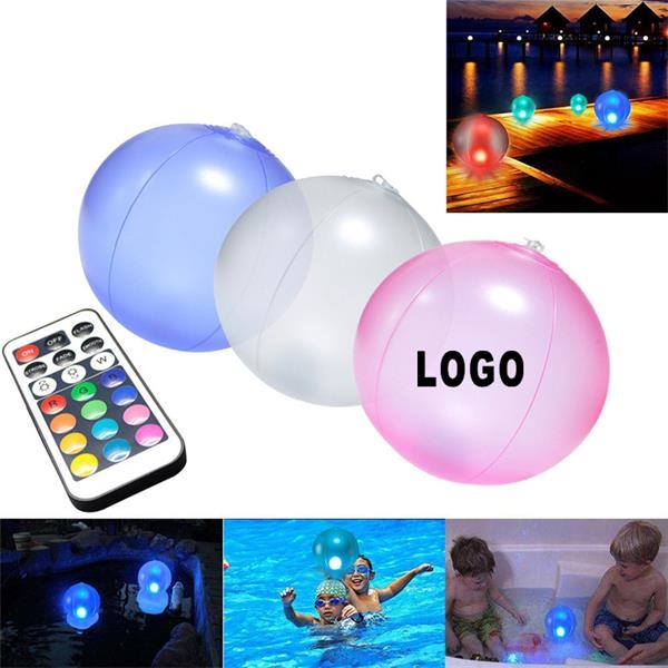Inflatable LED Beach Ball