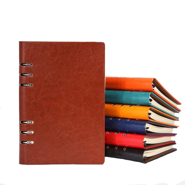 PU Leather Spiral Notebook