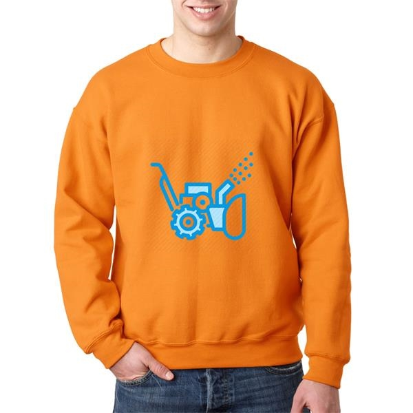 Dry Blend Thick Sweatshirt Long sleeve Winter wear 9.3 oz