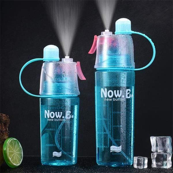 Summer Cooling Spray Water Bottle