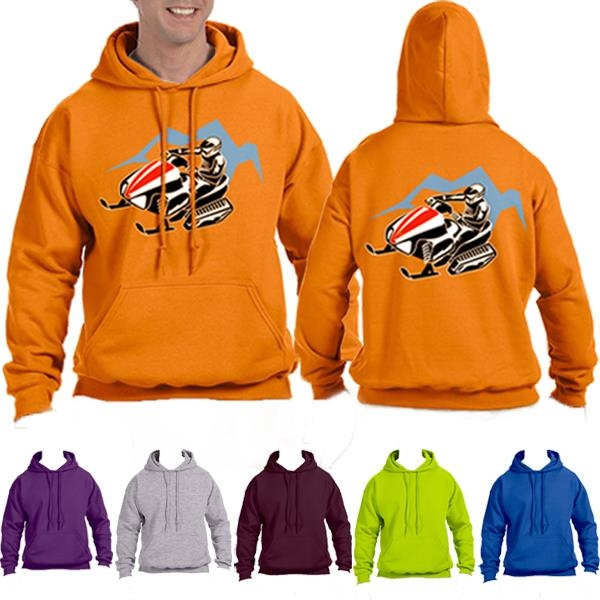 Heavy Thick Pullover Hoodie Winter Sweatshirt 9.3 oz