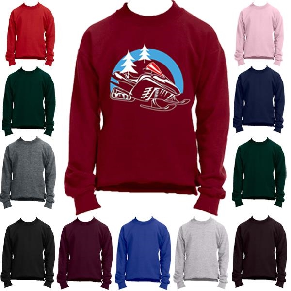Youth Full Sleeve Crew Winter Sweatshirt
