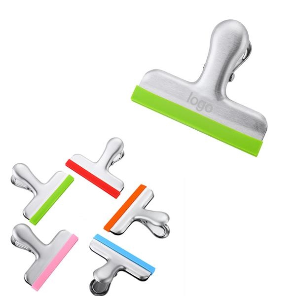 Stainless Steel Clip with Silicone