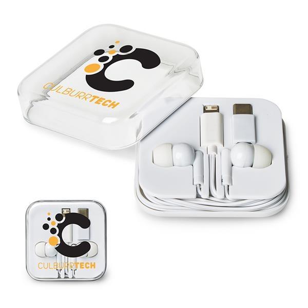 Multi-Port Earbud Set