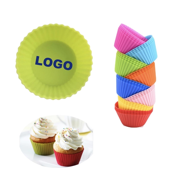 Reusable and Non-stick Silicone Cupcake Liners