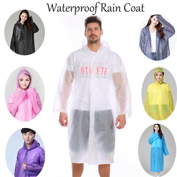 Translucent Adult Rain Coat