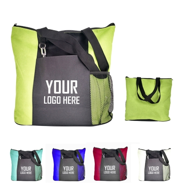 Multi-Purpose Tote Bag 600D Polyester