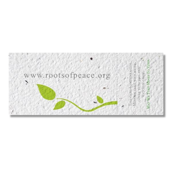 Seed Paper Coupon, 5x2