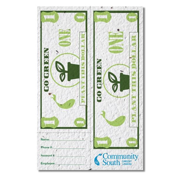 Seed Paper Coupon, 5.5x8.5