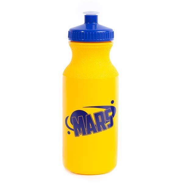 20 OZ. Spirit Water Bottles with Push Cap