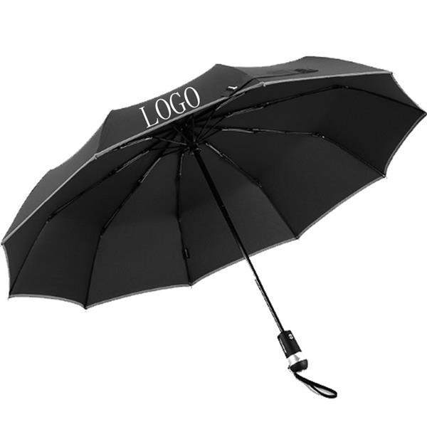Auto Open/Close Windproof Safety Umbrella