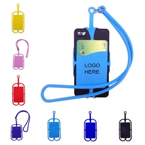 Universal Mobile Phone Lanyard With Pocket