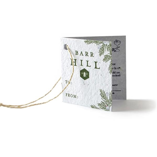Folding Seed Paper Product Tag