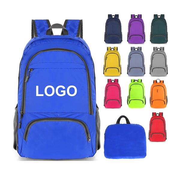 Water Resistant Folding Backpack