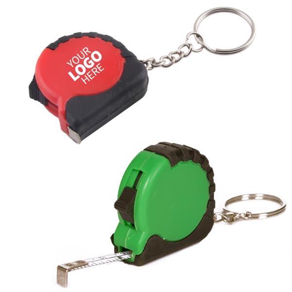 Mini Tape Measure Keychain