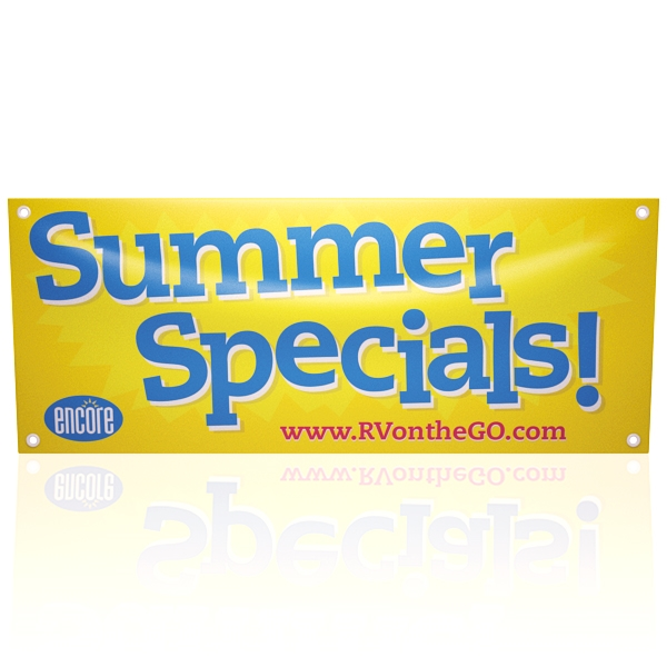 13 oz Outdoor Vinyl Banners - Full Color