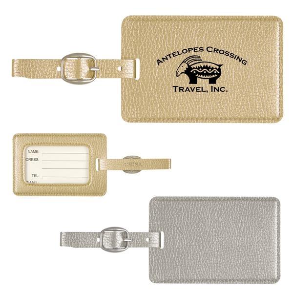 Metallic Luggage Tag