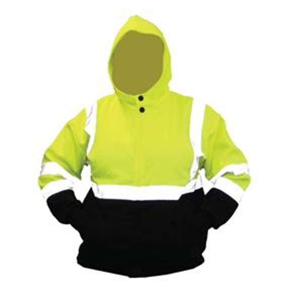 Forester® Hi Vis Two Tone Pullover Hooded Sweatshirt