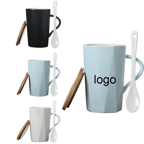 12 oz Diamond Shaped Mug Set