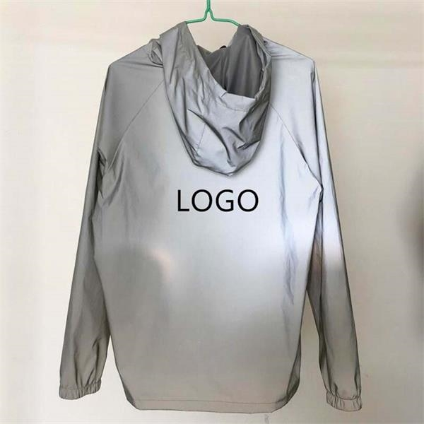 M -XXL polyester full reflective pullover jacket