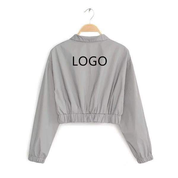 S-L polyester full reflective lady jacket