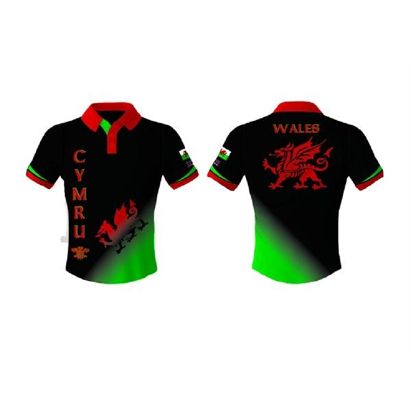 Sublimated Dry Fit Custom Youth Soccer Jersey Polo Shirts